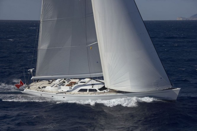 Sailing yacht Nephele -  Main